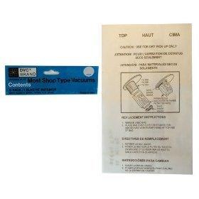Paper Shop Vac Vacuum Replacement Bag (5 Pack)