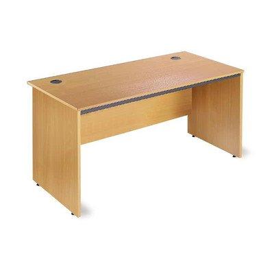 Maestro Straight Panel End Desk Finish: Oak, Size: 75.4cm
