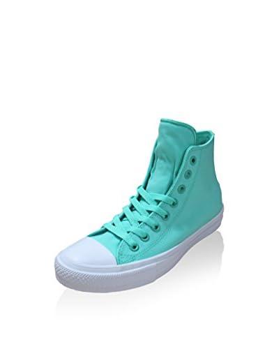 Converse Zapatillas abotinadas Ct As Ii Hi Neon Poly Verde Agua