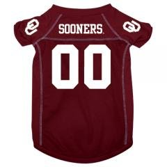 Oklahoma Sooners NCAA Mesh Pet Football Jersey - Sizes S, M, L - Sports Fan Pet... by NCAA