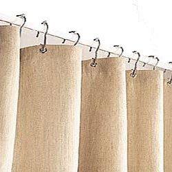 organic hemp shower curtain 72x72 natural