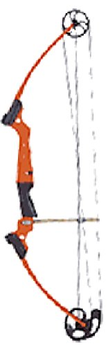 Genesis Bow Kit, Right Handed, Orange