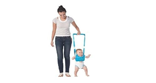 King's Deal (Tm) Handheld Baby Walker Toddler Walking Helper Kid Safe Walking Protective Belt Child Harnesses Learning Assistant (Blue) - 1