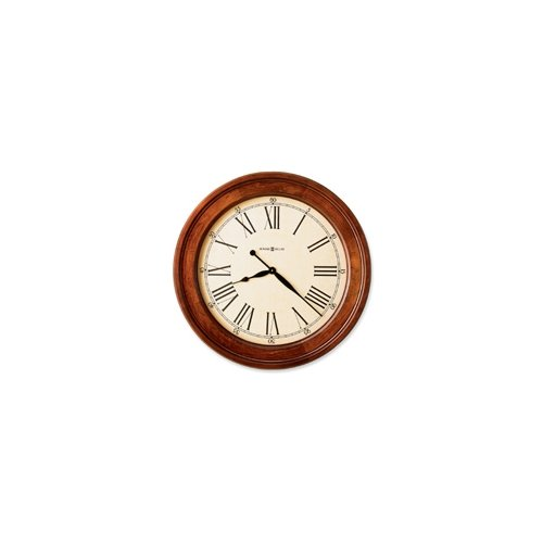 Grand Americana Cherry Finish Quartz Wall Clock