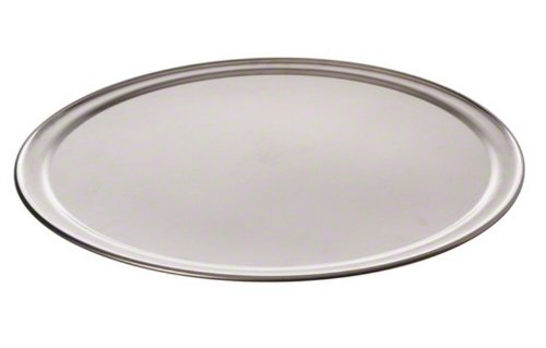 American Metalcraft TP17 TP Series 18-Guage Aluminum Standard Weight Wide Rim Pizza Pan, 17-Inch