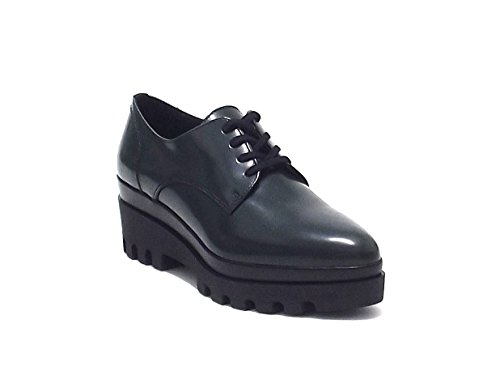 Scarpe donna, Janet Sport sneakers 36736, pelle spazzolata, colore verde