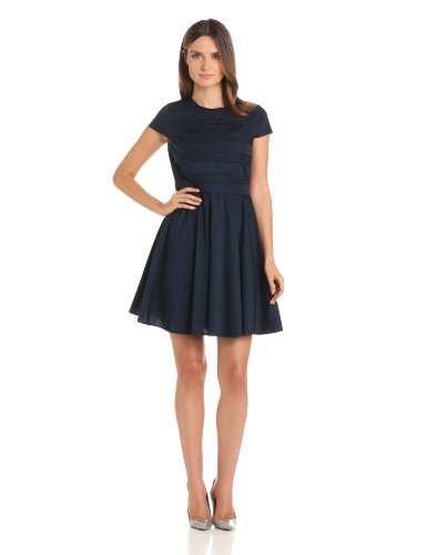 Cynthia Steffe Women's Leah Dress, Blue Night, 12