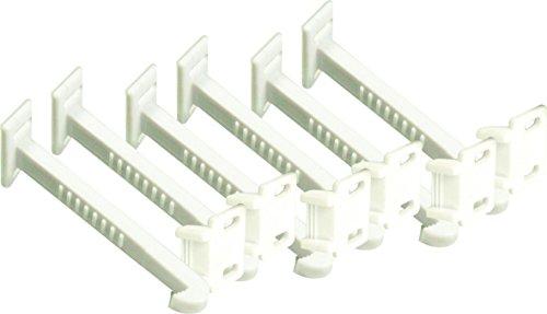Elro Kids CO101 Sicherheitshaken für Schranktüren und Schubladen, 6 Stück