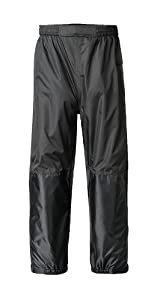 Mossi Ladies RX Rain Pant (Black, X-Large)