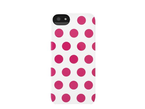 INCASE(インケース)SNAP CASE for iPhone5 WHITE/SMALL PINK DOTS 69101 (iPhone5用, WHITE/SMALL PINK DOTS)
