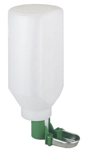 kerbl-74302-dispenser-automatico-di-acqua-per-conigli-con-vaschetta-inferiore-in-acciaio-inox