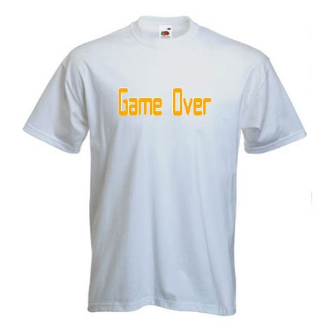 Game Over - Video Games T-Shirt
