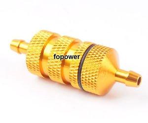 Sangdo 80118 Alum Gold Fuel Filter RC 1:8 Nitro Car Truck Upgrade Parts (Rc Nitro Fuel Filter compare prices)