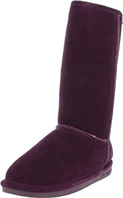 BEARPAW Women's Emma Tall 612-W Boot,Winterberry,5 M US