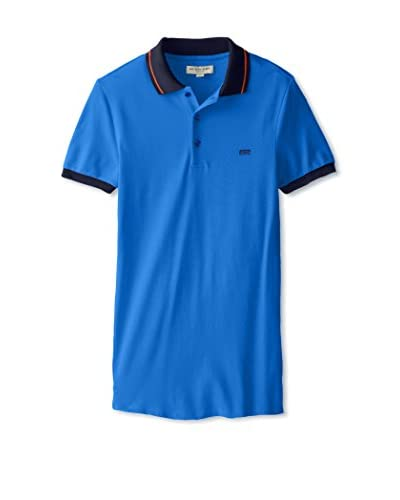 Burberry Men's Contrast Tipping Detail Polo