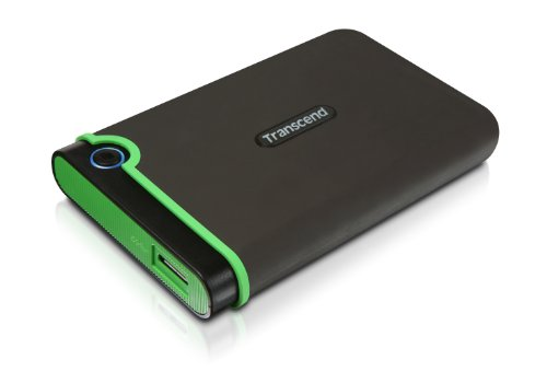 Transcend 750GB 2.5 inch USB 3.0 Military-Grade Shock Resistance Portable External Hard Drive