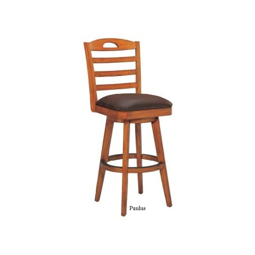 Amazon Paulus Leather Swivel Bar Stool Step Stools