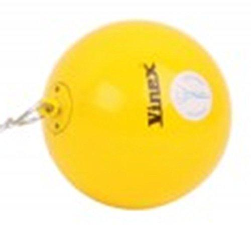 Wurfhammer für Hammerwurf - aus gedrehtem Stahl - Vinex Super 5,00 kg - Yellow Sun