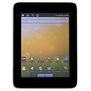"Velocity Micro Cruz R102 7"" Color Touchscreen 256 MB RAM w/ Android 2.0"