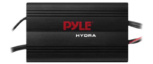 Best Prices! Pyle PLMRMP3B 4 Channel 800 Watt Waterproof Micro Marine Amplifier