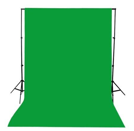 【撮影時の必需品】 写真撮影用 背景布 (180×270cm)5色の中から「312-05」 (グリーン)
