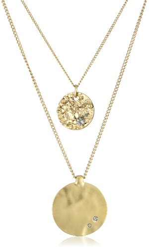Kenneth Cole New York Gold-Tone Two-Row Necklace
