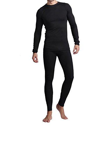 American Casual® Men's Soft Cotton Fleece Lined Shirt/Pants 2PC Thermal Set
