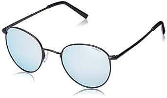 Polaroid Polarized Round Unisex Sunglasses - (PLD 6010/S 003 51JB|51|Silver Color)