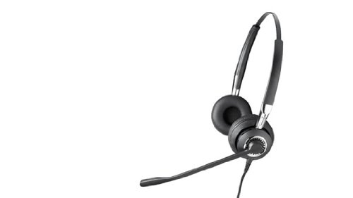 Jabra Biz 2415 Omni Duo Corded Headset For Deskphone With Omni-Directional Microphone