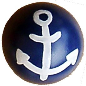 Anchor Furniture-Drawer Knobs - color: Dark Denim