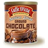 Caffe D'Vita Mexican Spiced Ground Chocolate 48 Oz. (3 lb.) Container