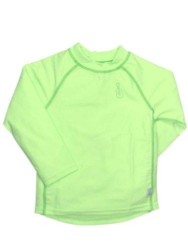 Upf 50+ Long Sleeve Rashguard By Iplay - Lime - 12 Mths front-1061247