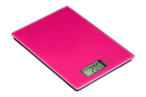 Premier Housewares 0807259 Zing Balance de Cuisine Electronique Verre Fuchsia