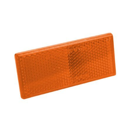 Amber Rectangular Reflectors, 2pk (Flash Back For Rear Bumper compare prices)