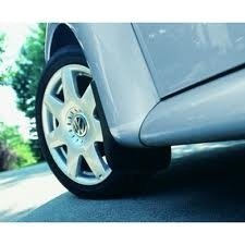 OEM VW Beetle Front Mud Flaps Splash Guards Black Set 2 (New Beetle Mud Flaps compare prices)
