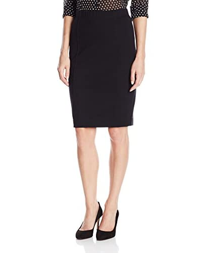 Three Dots Women's Pencil Skirt with Seam Detail