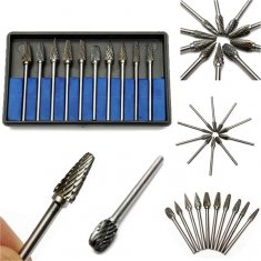10-Pcs-Tungsten-Steel-Oral-Care-Burs-Dental-Tooth-Drill-Tools-Kit