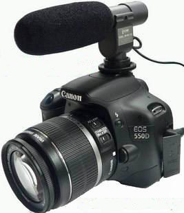 Directional Shotgun Mic For Camcorder And Dslrs