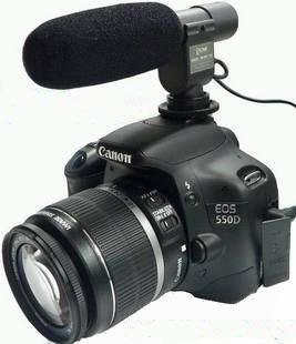 Directional Shotgun Mic For Camcorder And Dslrs
