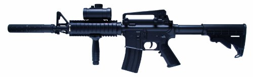 Schmeisser Softair Gewehr AR-15 Tactical, schwarz, 201346