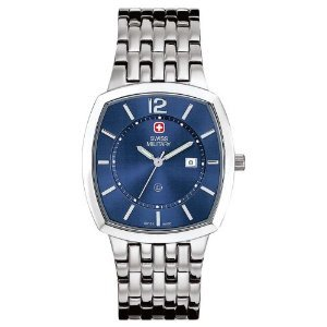 Swiss Military Hanowa Men's 06-5088-04-003 Rendezvous 316L Stainless Steel Blue Dial Watch