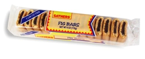 Sathers Farley Fig Bars, 6-Ounces (Pack Of 24)