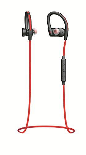Jabra SPORT PACE WIRELESS レッド (Bluetooth イヤホン マイク ヘッドセット/耐衝撃/防塵防滴/音声ガイダンス/A2DP対応 ) 【日本正規代理店品】