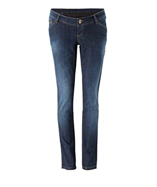 Blooming Marvellous Maternity Straight Leg Jean with Microfibre Over the Bump Band