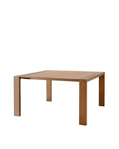 Domitalia Fashion-Q Square Table, Walnut As You See
