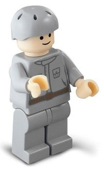 "Rebel Technician - LEGO 2 Star Wars Figure"" - 1"