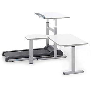 LifeSpan TR1200-DT5T Treadmill Desktop with Tandem Desk
