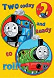 Thomas the Tank Engine Age 2 Birthday Card