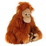 FAO Schwarz 20 inch Plush Orangutan - Copper