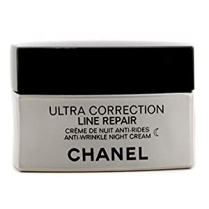 cha nel Night Care, 50ml/1.7oz Precision Ultra Correction Line Repair Anti Wrinkle Night Cream for Women